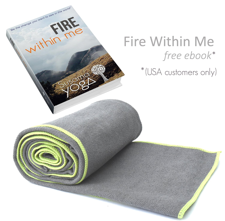 susama yoga towel