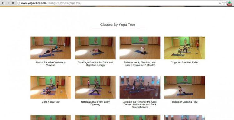 yoga studios screenshot