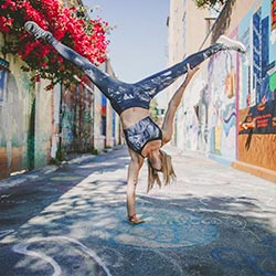 pat bailey yoga handstand