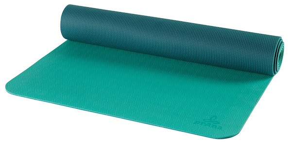 prana eco yoga mat green
