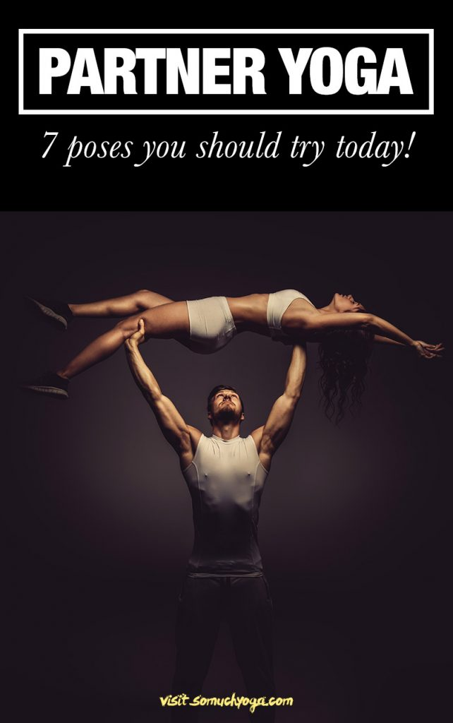 partner yoga poses infographic