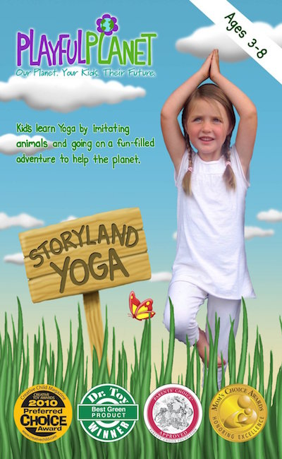 storyland yoga dvd