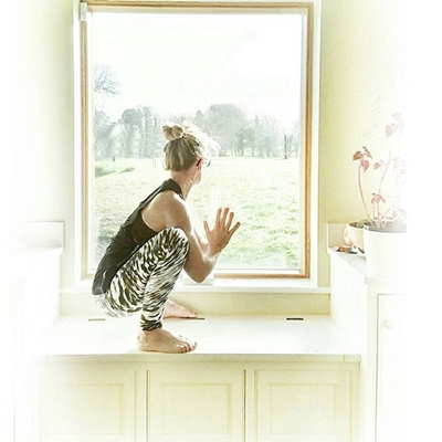 Malasana or Garland Pose Squat