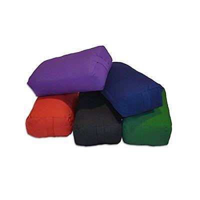 rectangular cotton yoga bolster - Yoga Bolster