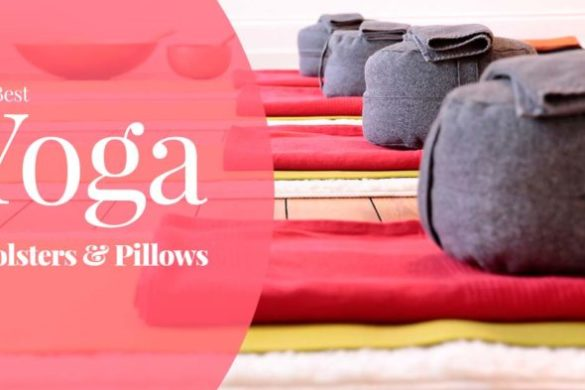 best yoga bolsters and pillows