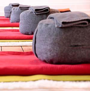 yoga bolsters - Yoga Bolster
