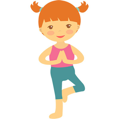 Image result for preschool yoga clipart