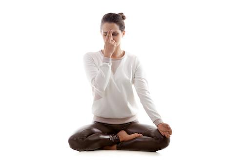 Alterante Nostril Breathing - nadi shodhana pranayama