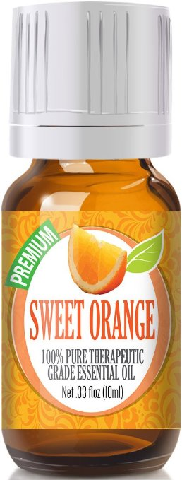 Sweet Orange - 100% Pure, Best Therapeutic Grade Essential Oil