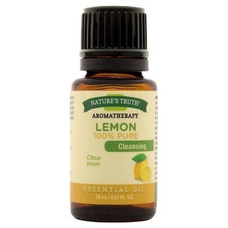 nature's truth aromatherapy lemon essential oil