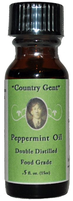 peppermint oil  DOUBLE DISTILLED  Food Grade