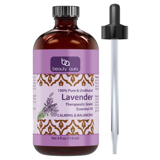 beauty-aura-100-pure-lavender-essential-oil-4-oz-bottle-finest-quality-therapeutic-grade-essential-oils-ideal-for-aromatherapy