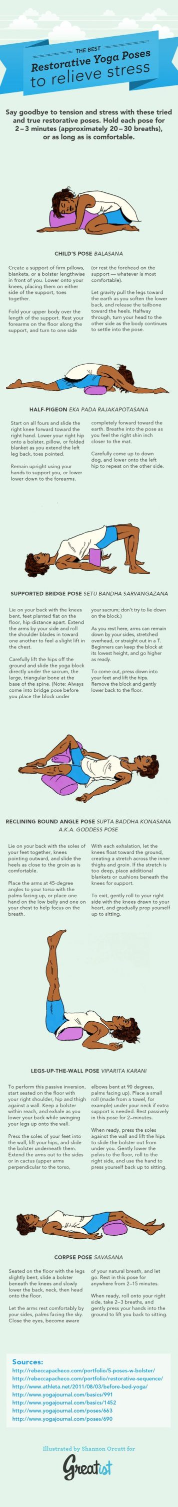 Restorative Yoga Poses For Anxiety